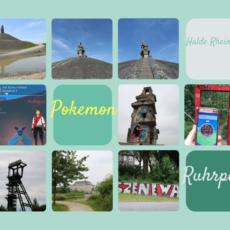 Unterwegs in den Ruhrpott Mountains mit zwei Pokemon Trainern