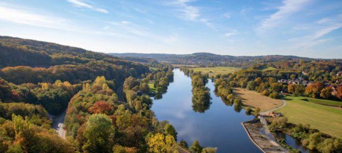 Herbstausflug nach  Hohenstein in Witten – Das Ruhrgebiet ist grün und bunt