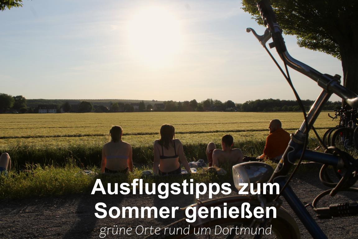 Sommer in Dortmund – Drei schöne Orte zum Entspannen