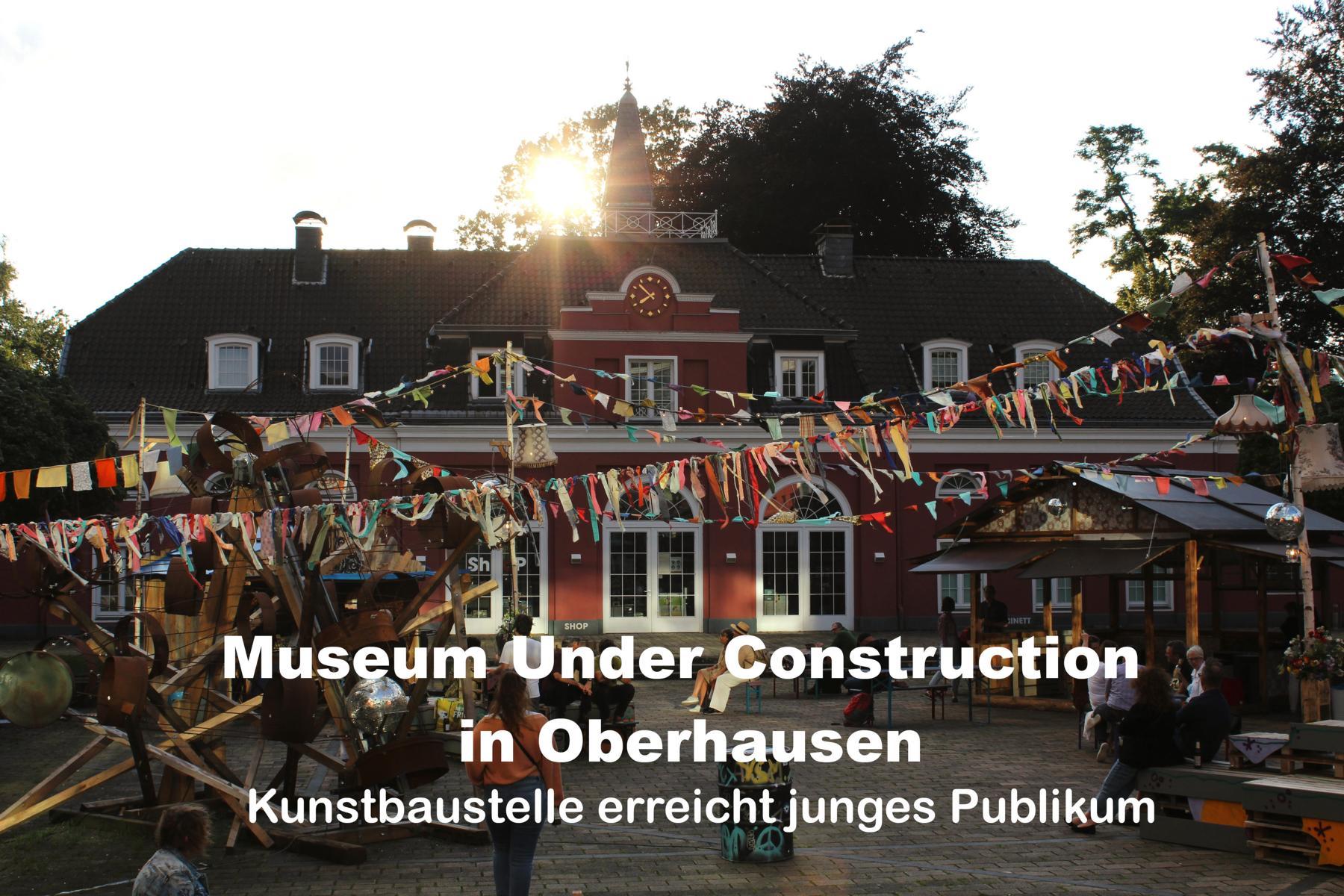 Veranstaltungstipp: Baustelle wird zum eigenen Kunst-Konzept
